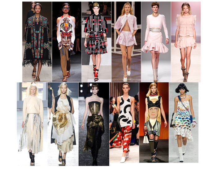 The Top 14 Trends From Spring 2014 Fashion Week