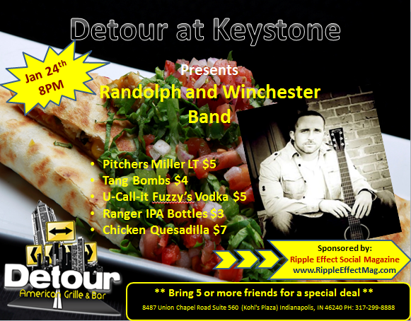 Detour American Grille at Keystone presents: Randolph and Winchester Band