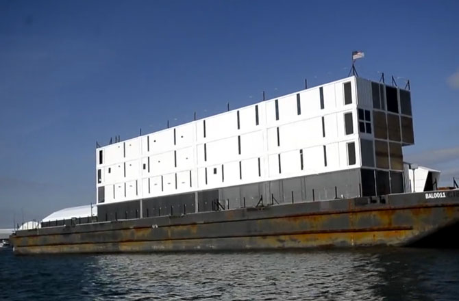 Google must move mystery barge from San Francisco Bay after complaints