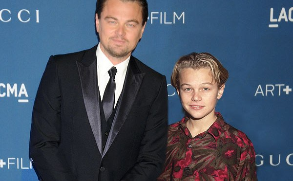 Oscar Nominees Pose with Younger Versions of Themselves